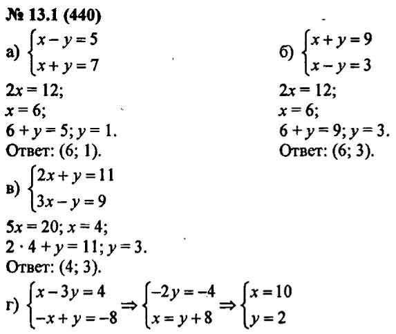 Решебник Алгебре 7 Класс Мордкович 2 Часть